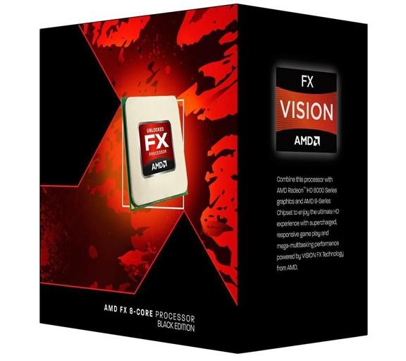 AMD FX 8-Core Processor Black Edition.