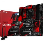 MSI Gaming Z170A Gaming M9 ACK motherboard.