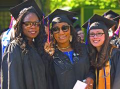 More than 500 graduates attended Thursday night's Commencement ceremony at SUNY Orange. In all, nearly 900 students completed their academic degree or certificate requirements during the past academic year or are on tap to do so this summer. Photo: Nihal Mahawaduge