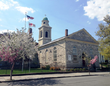 St. George's Episcopal Church on Grand Street in Newburgh's Historic will participate in The New York Landmarks Conservancy's Sacred Sites Open House weekend.