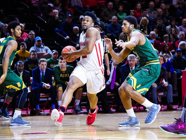 Marist Sophomore guard Brian Parker scored 16 points in 29 minutes for Marist.