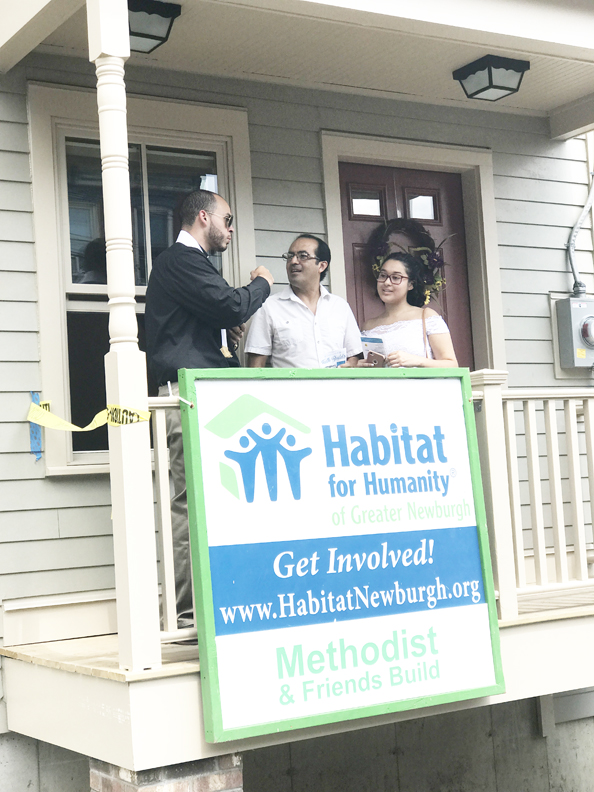 habitat newburgh dedicates four homes - hudson valley press newspaper