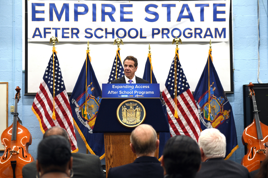 Cuomo Announces Funding For After School Programs Hudson Valley