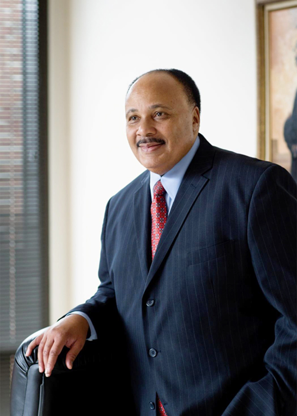 Martin Luther King III: Continuing Father's Work - Hudson ...
