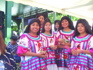 Colorful, energetic traditional Mexican dancing was one of the many attractions at Sunday's 10th Anniversary of La Guelaguetza at Poughkeepsie's Waterfront.
