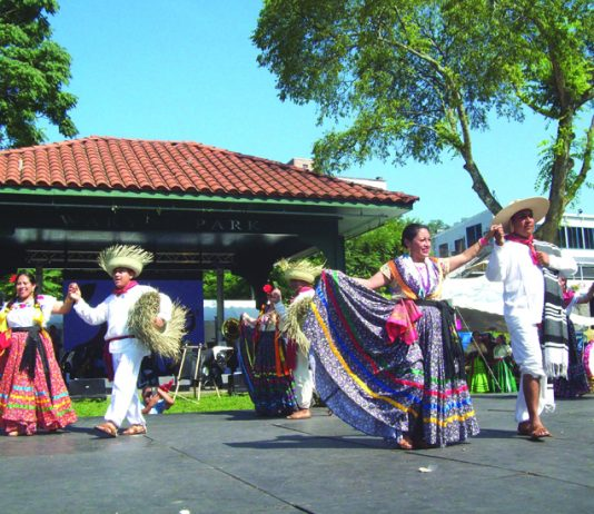 Sunday's 10th Anniversary of La Guelaguetza, held at Poughkeepsie's Waterfront, featured traditional, colorful Mexican dancing, along with an assortment of authentic foods, crafts, clothing and other items, as well as children's activities and community services.