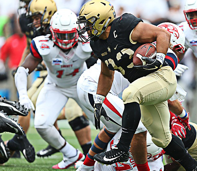 The Army West Point football team took down Liberty 38-14 in its home opener here on Saturday afternoon.