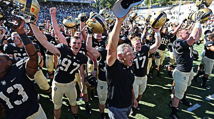 In a thrilling game that came down to the wire, it was the Army West Point football team delivering a huge fourth-quarter stop to take down undefeated Hawai'i, 28-21, here Saturday afternoon at Michie Stadium.