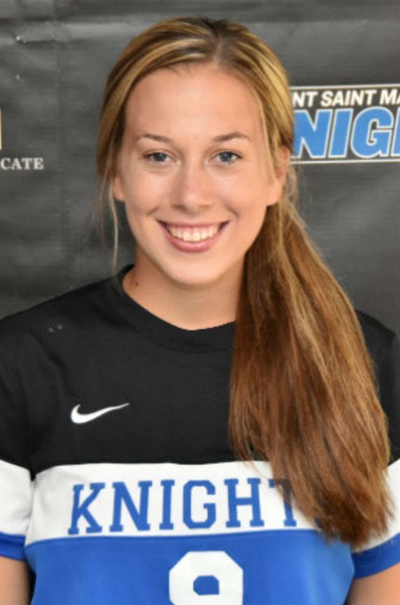 Chrissy Cannella potted her team leading second goal of the season for the Knights.