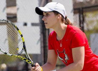 The Marist women's tennis team completed play at the Bison Invite Sunday afternoon.