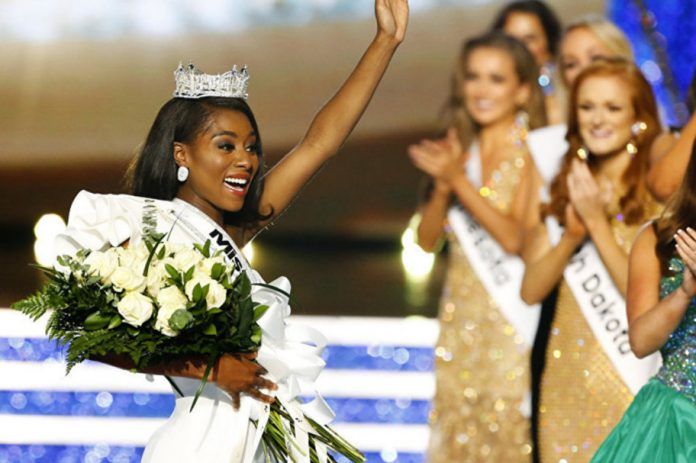Nia Franklin was crowned the 92nd Miss America on September 9, 2018. She is being considered the first ever Miss America 2.0 as this was the first year the pageant did not include a swimsuit segment and contestants were not supposed to be judged on appearance. Photo: Sputnik International