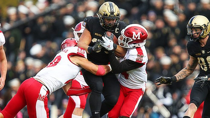 The Army West Point football team captured a 31-30 double-overtime thriller against Miami (OH) on Saturday afternoon to remain unbeaten at home this season.