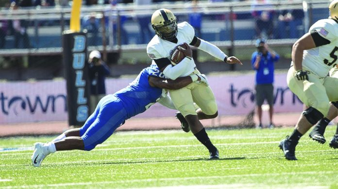 Army West Point Football team scored a decisive 42-13 victory on Saturday.