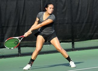 Rookie Stephanie Dolehide and sophomore Abi Waldman of the Army West Point women's tennis team earned singles titles on the final day of the West Point Invite on Sunday.