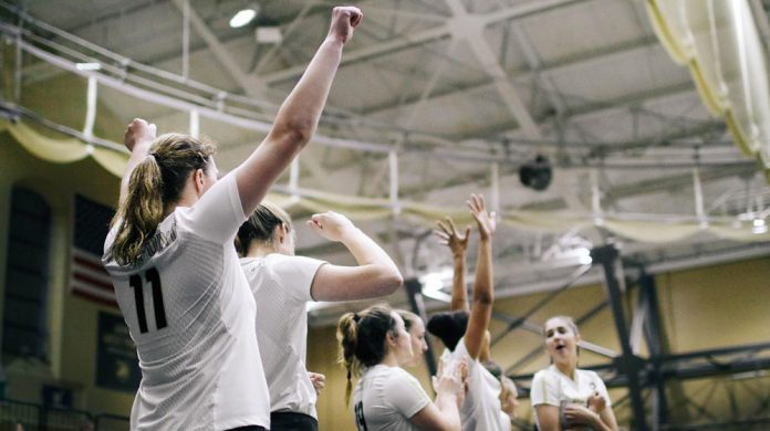 Despite trailing 2-1 through the opening three sets, the Army West Point volleyball team battled back to secure a 3-2 come-from-behind victory over Lehigh in a Patriot League match on Saturday afternoon.
