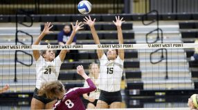 The Army West Point volleyball team suffered a 3-0 setback to Navy on the road Saturday night.
