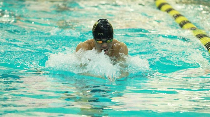 The Army West Point men's swim and dive team won five events to close out the weekend en route to a first-place finish at the TYR Fall Classic at the Biscayne Bay Aquatic Center.