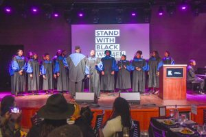 Howard University Gospel Choir performed during the Planned Parenthood Federation of America seventh annual brunch. Photo: Planned Parenthood Federation of America.