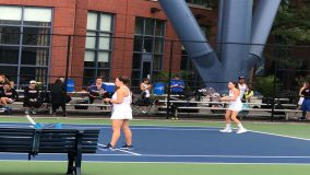 The Mount Saint Mary College Women's Tennis team was handed its fourth straight loss overall and third straight Skyline Conference defeat on Sunday