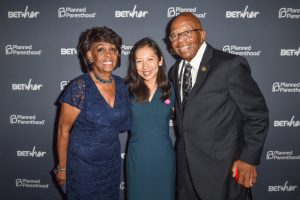 Rep. Maxine Waters, Dr. Leana Wen, and Rep. Elijah Cummings pose during the Planned Parenthood Federation of America's Annual Champions of Womens Health Brunch at the Hamilton on Saturday, September 15, 2018, in Washington DC. Photo: Planned Parenthood Federation of America
