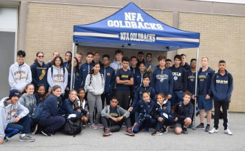 The Boys Varsity team, coached by Chris Marino, defeated Middletown, Kingston, and Pine Bush in recent dual meets and then went on to take first place in both the Lombardo Invitational in Saugerties on October 6th and the All Hallows Invitational at Van Cortlandt Park on October 12th.