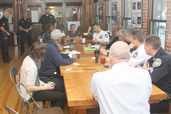 Last Wednesday marked the third annual National Coffee with a Cop Day and the City of Poughkeepsie Police Department participated at four locations.