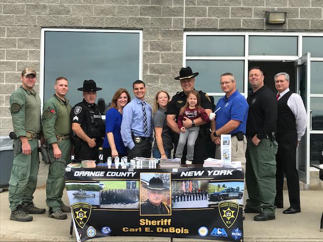 Open House Display Celebrates Sheriff's Week - Hudson Valley