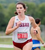Vassar placed six runners in the top 10 to capture its second straight Seven Sisters crown on Sunday at Rose Tree Park.