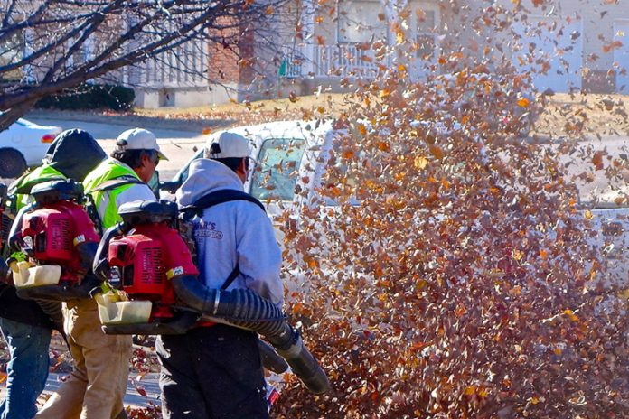 Upwards of 170 American cities in 31 states (as well as five cities in three Canadian provinces) have some kind of leaf blower restrictions already in place. Photo: Dean Hochman, FlickrCC