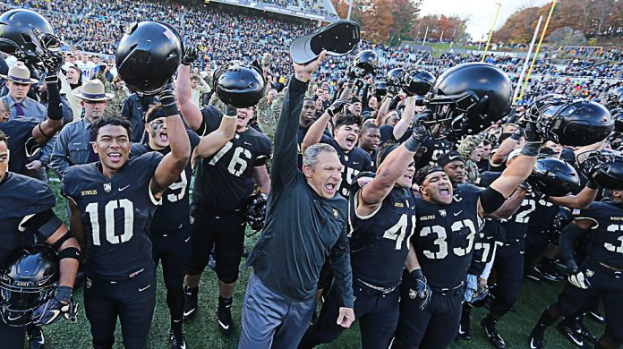 For the second-straight season the Army West Point football team will have some prime hardware to show off after it retained the Commander In Chief's Trophy following a 17-14 victory over Air Force on Saturday.