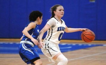 Led by 16 points from sophomore Katie Smith, the Mount Saint Mary College Women's Basketball team opened the 2018-19 season in impressive fashion with a 59-39 road win.