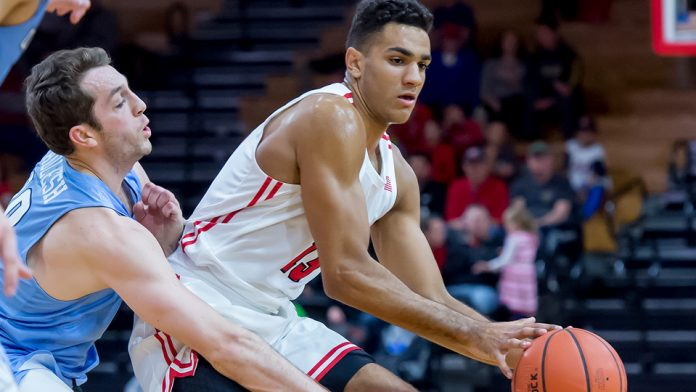 Matt Herasme led the Red Foxes with a career-high seven rebounds to go along with six points, two assists, and two steals.