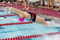 The Vassar College women's swimming & diving team took a 163-94 victory over New Paltz at Elting Pool on Friday night. It marked the first time since the 2015-16 season that the Brewers beat the Hawks in a dual meet.