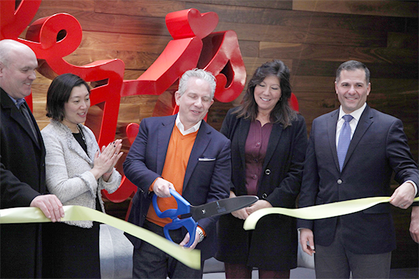 Hudson Valley Lighting's new global headquarters, in a repurposed soft drink facility in the Town of Wappinger celebrated its opening with Dutchess County officials and business leaders.