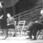 Marian Wright Edelman, John Maguire & Dr. Martin Luther King, Jr. in 1961 at Wesleyan University .