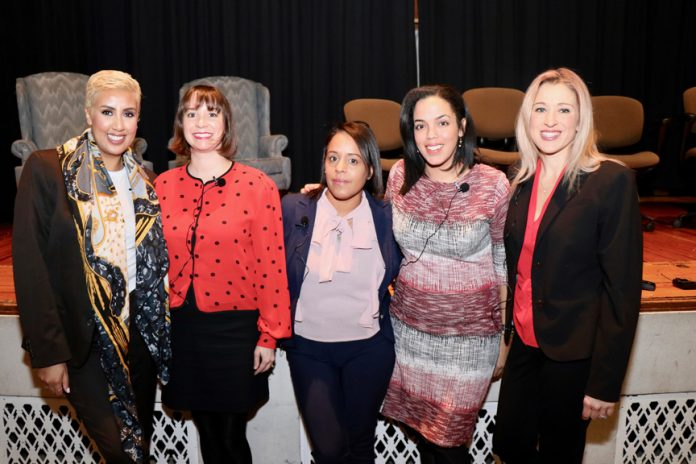 On Monday, December 10th, there was a panel in the auditorium of Newburgh Free Academy's North Campus that featured female entrepreneurs and leaders who are active in Newburgh.