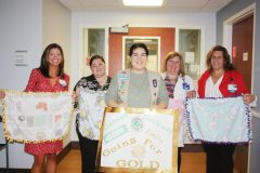 Emily Cucci, 16, of Cornwall, NY, recently completed her Girl Scout Gold Award project, benefiting St. Luke's Cornwall Hospital's (SLCH) youngest patients.