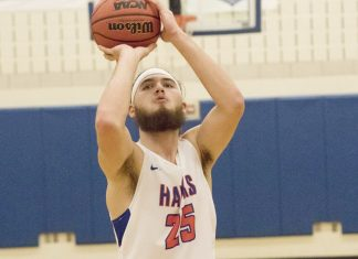 The SUNY New Paltz men's basketball team controlled most of the game against hosting Medgar Evers College Saturday and came away with a 98-91 overtime win.