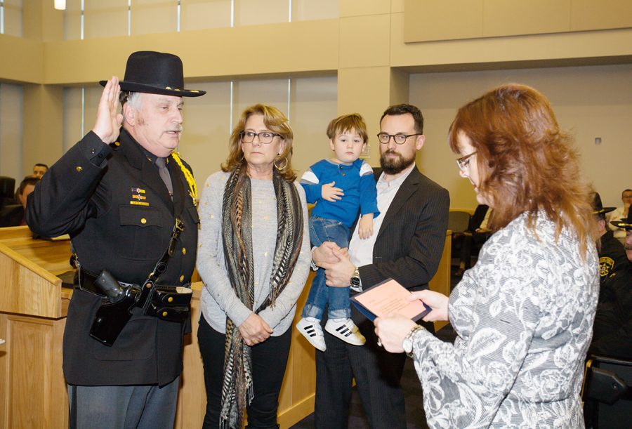 Sheriff DuBois and Judge Onofry are Sworn In - Hudson Valley