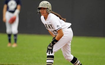 The Army West Point softball team dropped a 12-4 decision in its final game of the Mercer Invitational on Sunday.