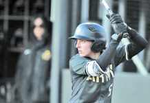 Sophomore Taylor Livingston led the Black Knights with four hits on the afternoon, including a three-hit effort against Santa Clara.