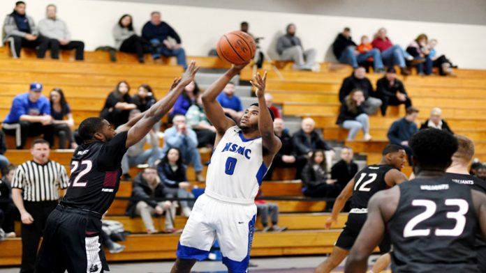 Led by a game-high 24 points from junior Kendall Francis, the Mount Saint Mary College Men's Basketball team cruised to a 71-42 Skyline Conference win over Maritime.