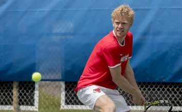 Marist men's tennis earned their first win of the season over Bucknell 5-2.