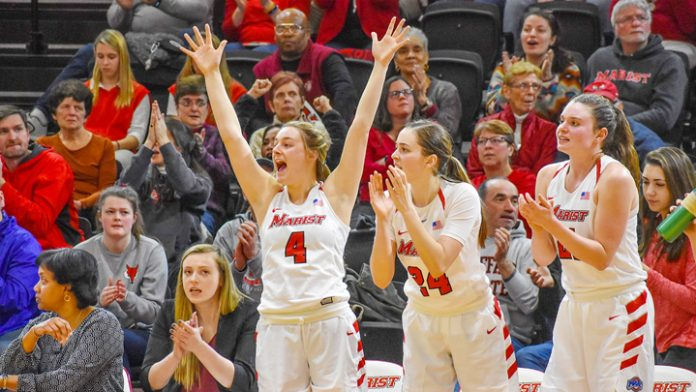 Marist women's basketball (16-7, 8-3 MAAC) was triumphant once again as they defeated Siena (9-12, 5-5 MAAC) 73-58.