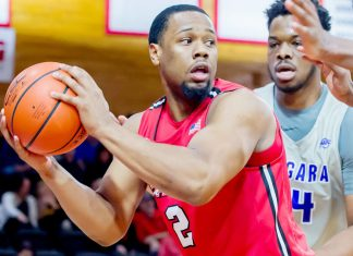 The Marist men's basketball team suffered a 67-55 loss to Siena in a Metro Atlantic Athletic Conference game at the Times Union Center on Sunday afternoon.