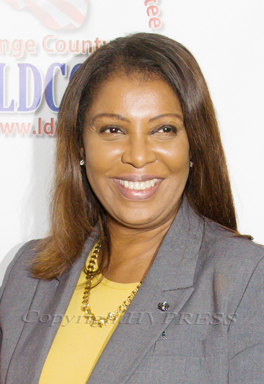 New York State Attorney General Letitia James. Hudson Valley Press File/CHUCK STEWART, JR.