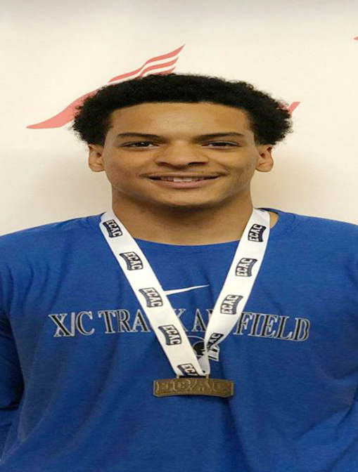 Dabein Walker won the individual title in the High Jump and the Mount set four school records over the two-day event.