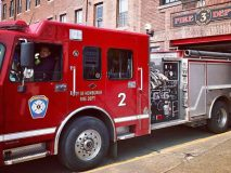 The West End Firehouse in the City of Newburgh is back in business.