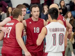 The Vassar College men's volleyball team dropped a non-conference 0-3 decision to the No. 1 Springfield Pride Friday evening.
