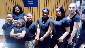 "Youth members from the New Beginner's Church of Christ performed a powerful Dance of Praise at Thursday's ""Commemorating the Life of Dr. Martin Luther King Jr."" event, held by the Black History Committee of the Hudson Valley."